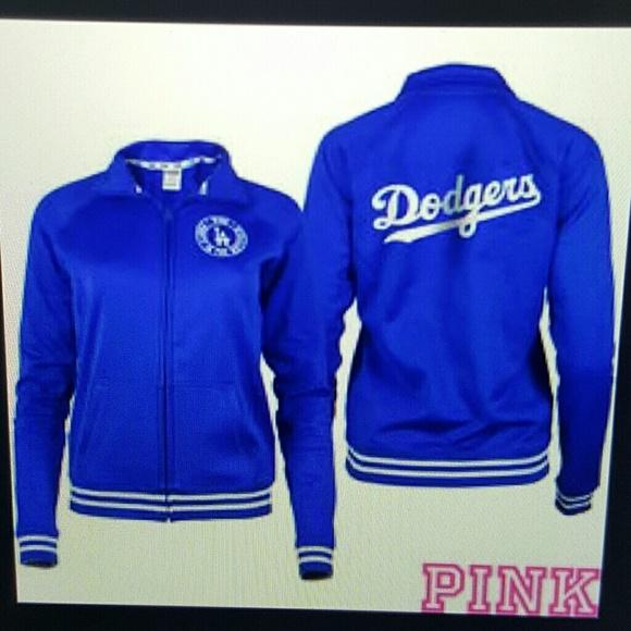 Victorias Secret Jackets Coats Victorias Secret Dodgers Jacket